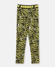 Banana print leggings c