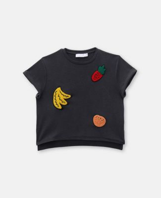 Fruit badge t shirt